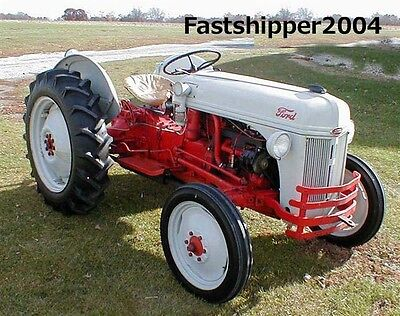 BEST FORD 9N 2N 8N NAA TRACTOR ASSEMBLY PARTS SERVICE REPAIR MANUAL 1942 1943 CD