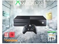 Xbox one - brand new and unopened box - comes with gears of war 4 and division