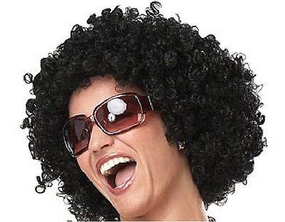 Afro Perücke für Karneval Halloween Fasching Party Fete Lockenkopf Lockenmähne