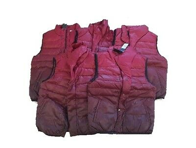 5 Lot Jack & Jones Originals Men Dean Waistcoat Body Warmer Size Small & Large  for sale  Shipping to India