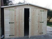 Wooden garage/ shed 6mx3m /19mm T&G