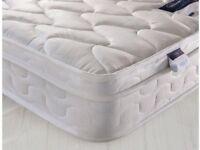 New King Size Silentnight pillow topped mattress