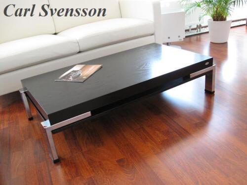 Design Couchtisch K 111 Schwarz Chrom Carl Svensson Neu Tisch In
