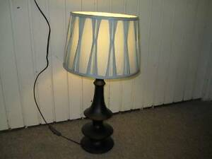 LAURA ASHLEY TABLE LAMP, + FREE CLAMP & HALLOGEN LAMPS Kirribilli North Sydney Area Preview