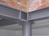 STRUCTURAL STEEL FOR BUILDERS: HEAVY STEEL STRUCTURES, RSJ, BEAM, BOX FRAME, GIRDER, UC, UB, PFC
