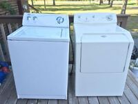 Washer & Dryer - High Capacity