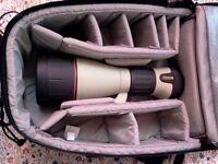 Nikon fieldscope ED82 with 2 Eye-pieces (38X & 25-75X Zoom)