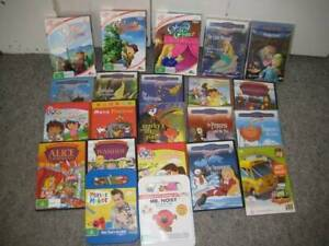 34 CHILDRENS DVDS, THUNDERBIRDS, SCRUBS, MOTHER & SON
