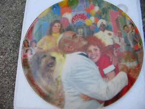 """""""ANNIE"""" COLLECTOR PLATES - Set of 4 London Ontario image 7"""