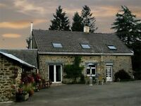 French House & Gite business In The Mayenne. France