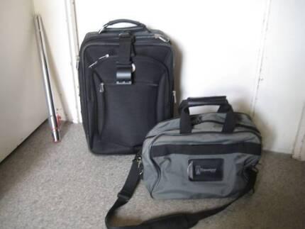 HAND LUGGAGE CASE  & SHOULDER /CARRY BAG