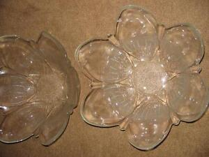 LARGE GLASS BOWLS