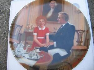 """""""ANNIE"""" COLLECTOR PLATES - Set of 4 London Ontario image 5"""