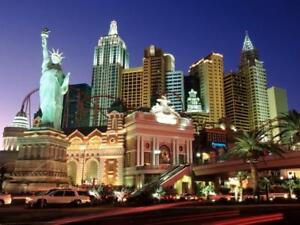 ESCAPE THE COLD IN VEGAS PLUS TWO OILERS/KNIGHTS TICKETS!