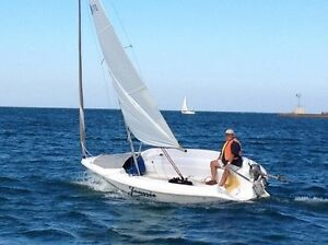 17 ft. Sailboat, Motor & Trailer