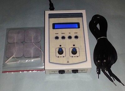 New Electrotherapy Mini Portable Pain Relief Therapy Unit Machine Unit