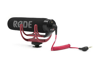 Rode Videomic VidMic GO On Camera Shoe Mount Rycote Lyre Onboard Microphone