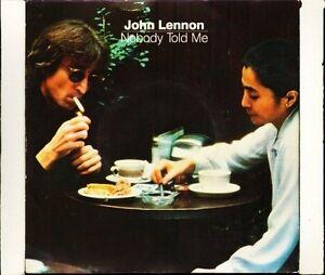 JOHN-LENNON-nobody-told-me-YOKO-ONO-o-sanity-POSP-700-uk-polydor-7-PS-EX-VG