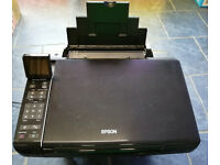 Epson Stylus SX515W A4 Colour Multifunction Inkjet Printer