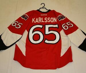 Game Worn Ottawa Senators Jersey / Sweater