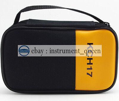 New Soft Casebag For Fluke Multimeter 101 106 107 15b 17b 18b 12e