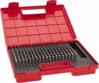 Value Collection 190 Piece 0.061-0.25 Inch Diameter Plug And Pin Gage Set Mi...