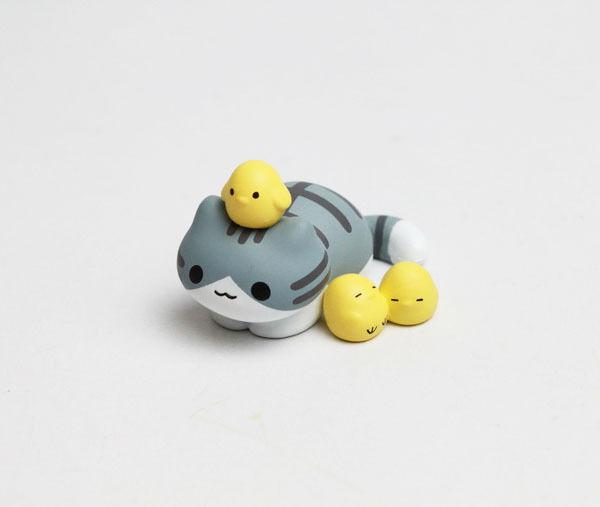 Toy Neko Atsume Cat Nekono Kyuujitsu 喵日記 P1 Figure Collection No8 Pickles