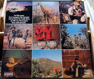 """Sam Sklair """"Authentic Africa Vol. 2"""" RARE Library LP"""