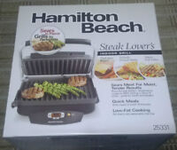 Hamilton Beach 100 Sq-Inch Nonstick Indoor Super Searing Grill