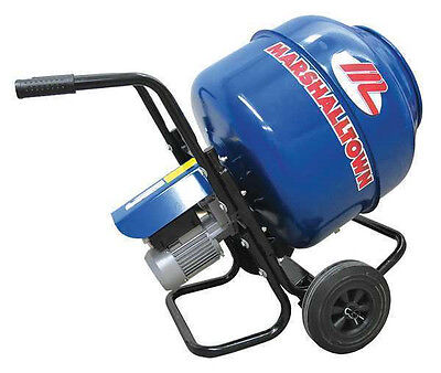 New Marshalltown Mix3 Electric Concrete Mixer 3 Cf Wheelbarrow Mixer 12 Hp