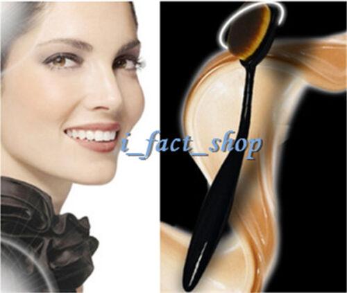 Functional Women Pro Make Up Tool  Toothbrush Concealer Cream Foundation Brush I