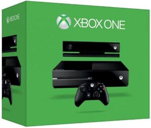 Xbox One with Kinect, 2 Controllers, 4 Games, Recharge Battery