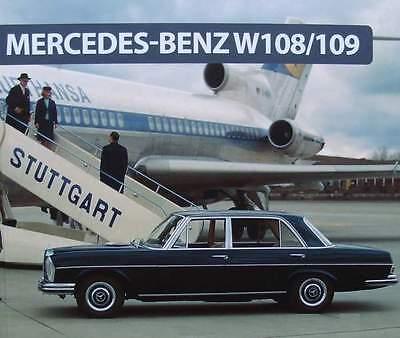 BOEK/LIVRE/BOOK : MERCEDES BENZ W108 / 109 (voiture de collection,oldtimer)