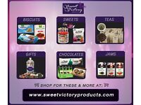 Sugar Free Sweets & Confectionery Specialists - Also Selling sugar free Gift hampers + Gluten Free