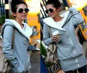 New-Fashion-Korea-Women-Hoodie-Fleece-Jacket-Coat-Warm-Outerwear-Hooded-Zip