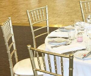 Gold Tiffany chairs Ingleburn Campbelltown Area Preview