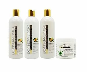 Dominican Magic Nourishing Shampoo/Conditioner/Leave on Conditioner & Hair Mask
