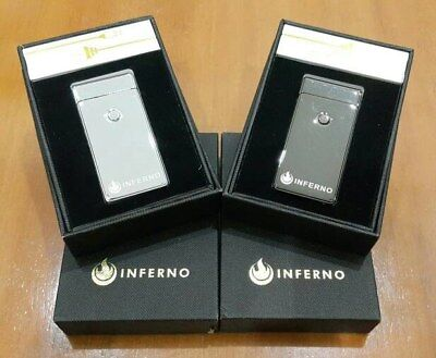 Inferno USB Rechargeable Lighter - Electric Lighter/Windproof/Flameless - Flameless Lighter