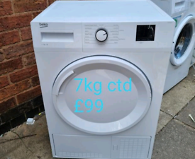 Beko 7kg condenser tumble dryer free delivery in Birmingham