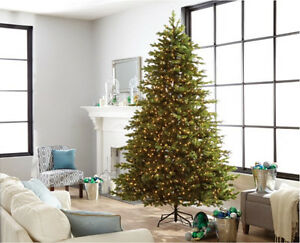 Beautiful 9' pre lit Christmas tree for sale