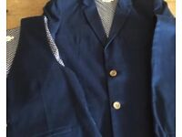 John Lewis Heirloom collection 3 piece suit. Aged 12-13 yrs. Excellent condition.