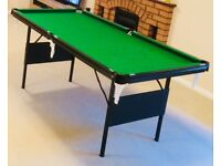 Pool / Snooker table 6 ft x 3 ft