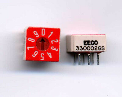 Eeco True Binary Rotary Switch In A Dip Switch Package