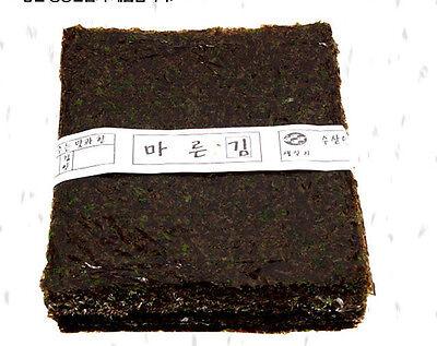 100-sheets Korean Parae Seaweed Dried Laver Healthy FOOD sushi gimbab nori