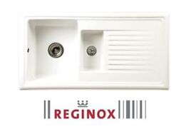 New Reginox Ceramic 1.5 Kitchen Sinks