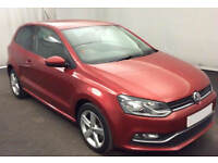 VOLKSWAGEN POLO 1.2 TDI SE  MATCH S 1.4 TSI 1.6 TDI R LINE FROM £45 PER WEEK!