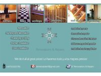 Renovations & Repairs, Great quality and prices!!!