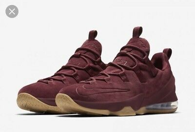 factory price cc59f c5c86 Nike Lebron XIII Low PRM Basketball Shoes Men s Size 9.5 Team Red  AH8289  600