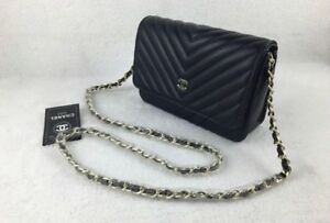 brand new chanel purse in real leather