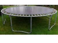 12 foot trampoline with covers